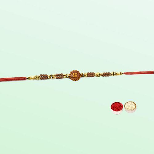 Arresting Swastik Rakhi the Thread of Love