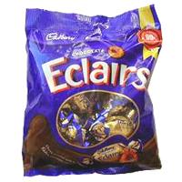 Full Packet of Cadburys Eclairs Chocolates