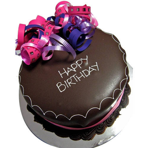 Chocolate Coated Chocolate Cake