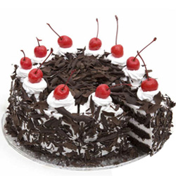 High-Quality Anniversary Special Black Forest Cake