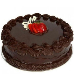 Heart-winning Anniversary Eggless Chocolate Cake