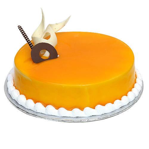 Delectable Mango Flavour Cake