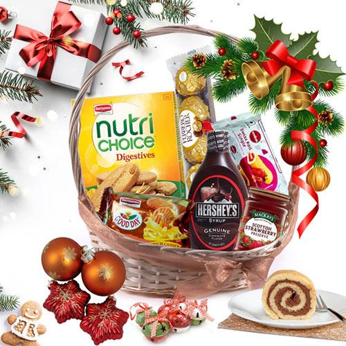 Festive Special Gift Basket