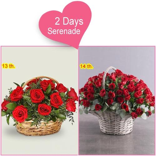 Online Delivery of 2 Day Serenade Gifts