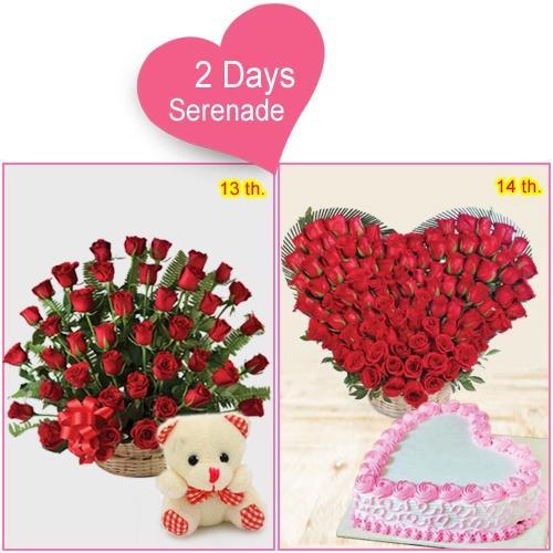 Gift Her 2-Day Serenade Combo Online