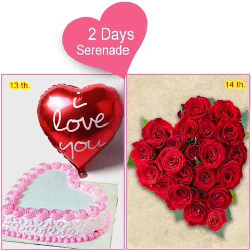 Deliver 2-Day Serenade Combo Online