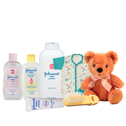 Sensational Johnson Baby Care Gift Combo