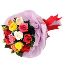 Eternal Ecstasy Mixed Roses Premium Bouquet