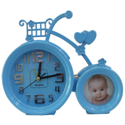 Alluring Cycle Clock Picture Frame