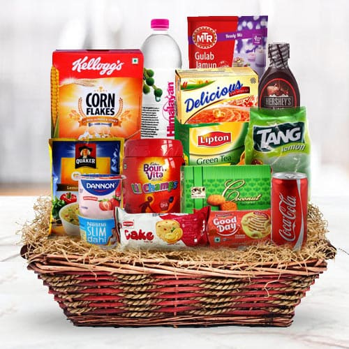 Enchanting Happy Thanksgiving Breakfast Gift Hamper