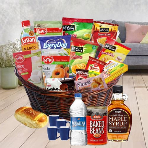 Alluring Special Moment Breakfast Gift Basket