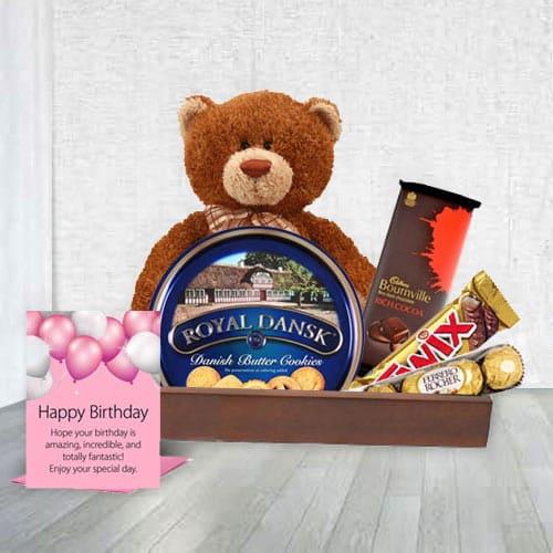 Classic Birthday Gift Hamper<br>