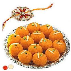 Alluring Rakhi Sweetness Combo