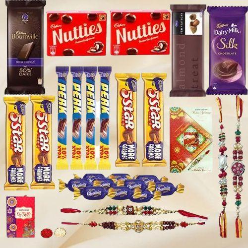 Decadent Rakhi Chocolate Gift Set