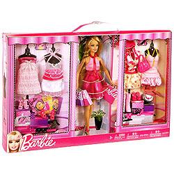 Barbie Doll Complete Fashion Gift Set Box