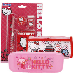 Wonderful Stationery Set with Hello Kitty Design