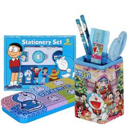 Splendid Stationery Set with Attractive Doraemon Design