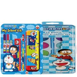 Smashing School Time Doraemon Pattern Stationery Set