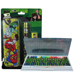Sporty Ben 10 Designed Stationary Set