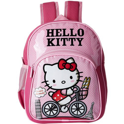 Wonderful Gift of Pink Color Hello Kitty School Bag