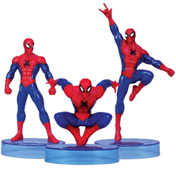 Let's Play with Spiderman Figurine Collection