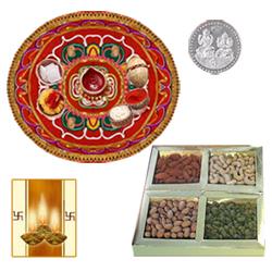 Dryfuits with Diwali Thali