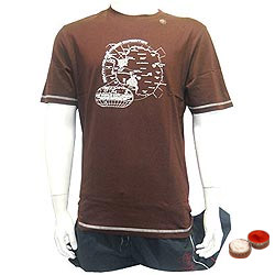 Fashionable Round Neck T Shirt with free Roli Tilak and Chawal.
