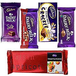 Treat of Chocolates from Cadburys
