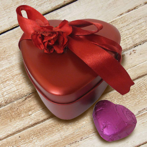 Amazing Heart Shaped Chocolate Box
