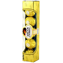 5 pcs Ferrero Rocher Chocolate Pack