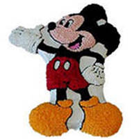 Irresistible Mickey Mouse Cake