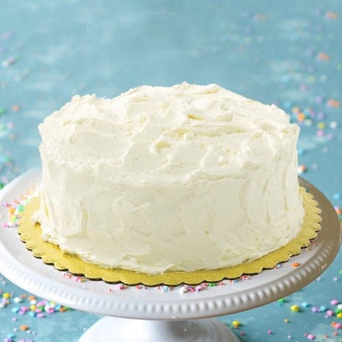 Soul Soothing Delicacy 1 Lb Vanilla Cake from 3/4 Star Bakery