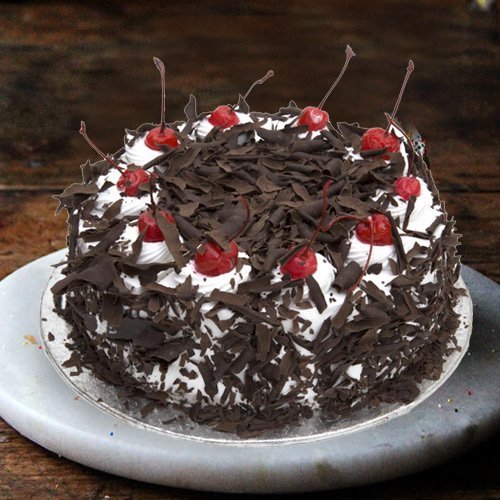 Send Black Forest Cake Online from 3/4 Star Bakery