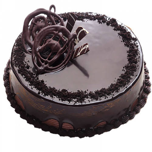 Online Deliver Eggless Chocolate Truffle Cake