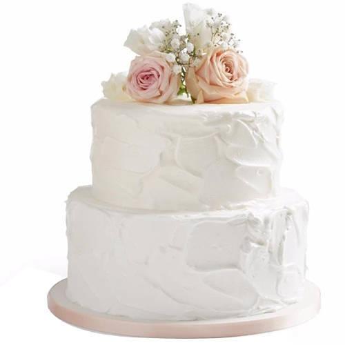 Send Online 2 Tier Wedding Cake