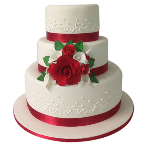 Book Online 3 Tier Wedding Cake