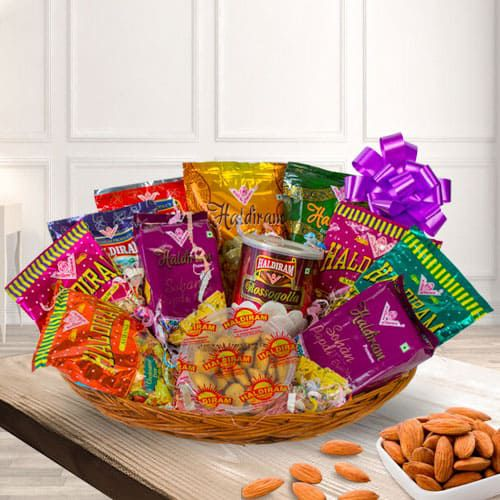 Assorted Snacks Hamper with Celebration Spirit