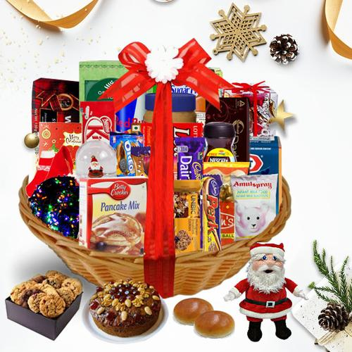 Embrace the Delicious Season Christmas Basket<br>