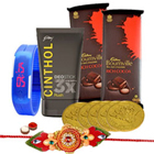 Charming Gifts for Him Hamper with Free Rakhi and Roli Tilak Chawal