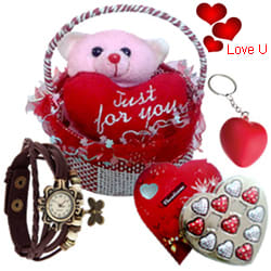 You are My Life Valentine Hamper
