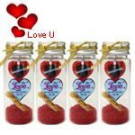 Romantic Gesture Message Bottle Pack (4 Pcs.)
