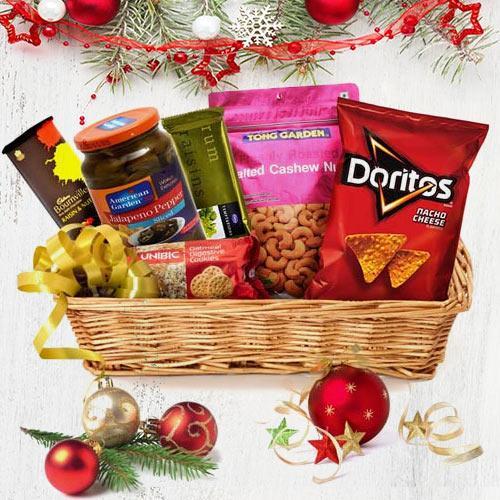 Festive Assortment Gift Basket