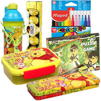 Pretty Presentation of Gift Items for Kids