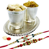 Eye-Catching Taj 5 Star Hotel Vouchers Worth Rs 1500 with 1 Free Rakhi with Gorgeously Decorated Design
