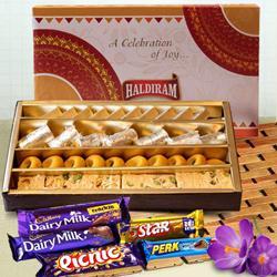 Haldirams Assorted Sweets with Cadbury Celebration