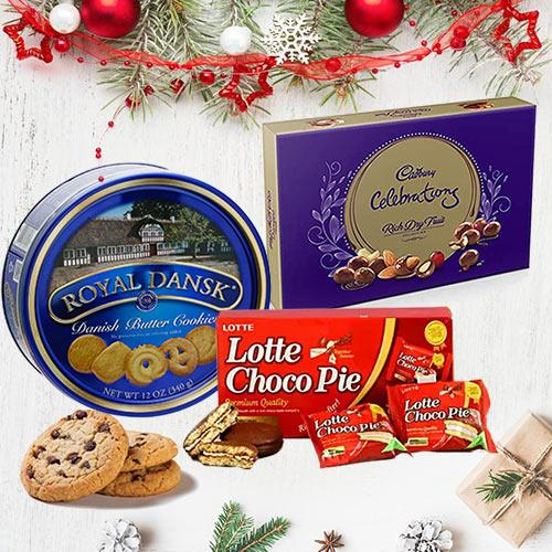 Yummy Christmas Gift Hamper