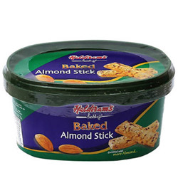 Luscious Pack of Baked Almond Stick by Haldiram
