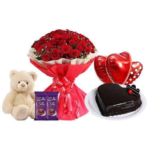 Deliver Combo Gift Hamper for V-Day Online