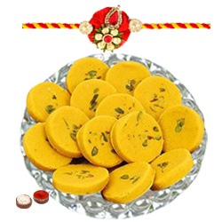 Enthralling Gift of Assorted Pedas with Kesar