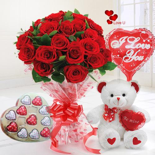 Deliver Teddy Day Gift Hamper Online